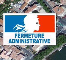 Que se passe-t-il après la fermeture administrative d'un établissement ?